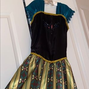 american vogue Other - Frozen Anna dress silky new costume Halloween 🎃